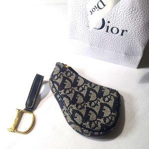 Dior Saddle Coin Purse